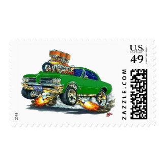 1964 GTO Green Car Stamps