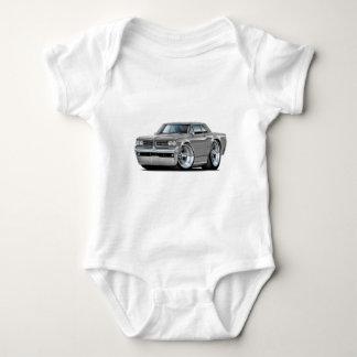 1964 GTO Grey Car Baby Bodysuit