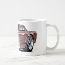 1964 GTO Maroon Car Coffee Mug