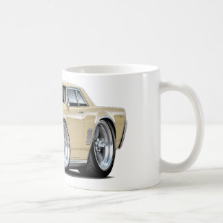 1964 GTO Tan Car Classic White Coffee Mug