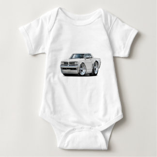 1964 GTO White Car Baby Bodysuit