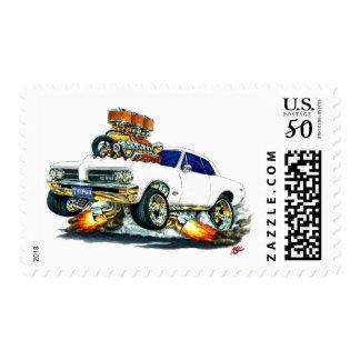 1964 GTO White Car Postage