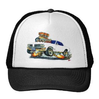 1964 GTO White Car Trucker Hat