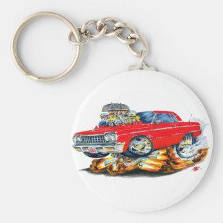 1964 Impala Red Car Keychain