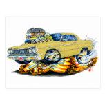1964 Impala Tan Car Post Card