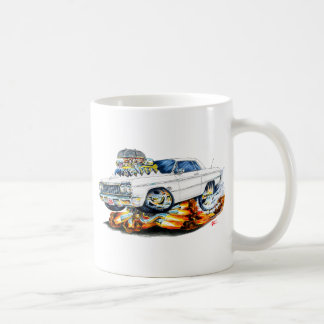 1964 Impala White Car Coffee Mug
