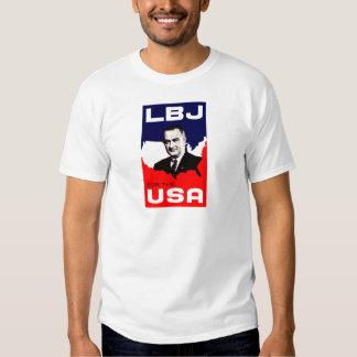 1964 LBJ para los E.E.U.U. Polera