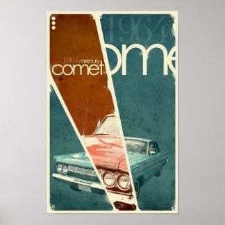 1964 Mercury Comet Poster