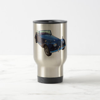 1964 Morgan Plus 4 Convertible Sports Car 15 Oz Stainless Steel Travel Mug