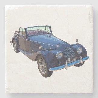 1964 Morgan Plus 4 Convertible Sports Car Stone Coaster