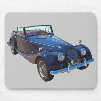 1964 Morgan Plus 4 Convertible Sports Car Mouse Pad