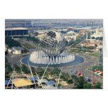 "1964 New York World's Fair - ""Unisphere""  Card"