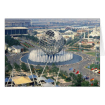 "1964 New York World's Fair - ""Unisphere""  Card"