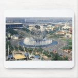 "1964 New York World's Fair - ""Unisphere""  Mousepad"