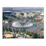 "1964 New York World's Fair - ""Unisphere""  Postcard"