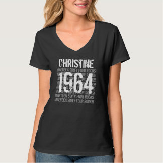 1964 o cualesquiera años oscilan el 50.o regalo de playera
