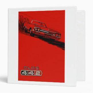 1964 Oldsmobile 442 poster reproduction 3 Ring Binder