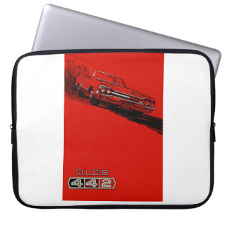 1964 Oldsmobile 442 vintage poster reproduction Laptop Sleeve