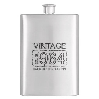 1964 regalo de cumpleaños del vintage del frasco | petaca
