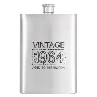 1964 regalo de cumpleaños del vintage del frasco   cantimplora