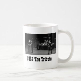 1964 The Tribute black & white mug
