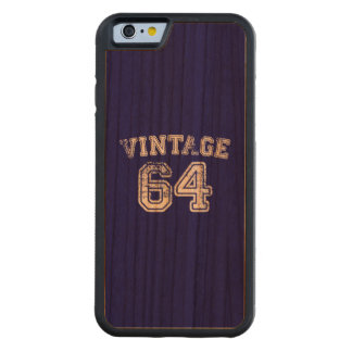 1964 Vintage Jersey Carved® Cherry iPhone 6 Bumper Case