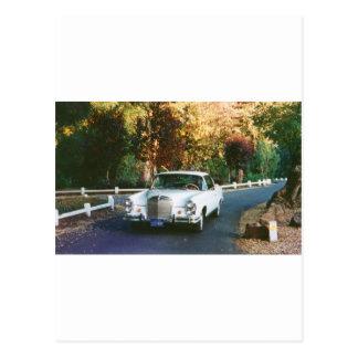 1965_220SEb_001  1965 Mercedes Benz 220SEb coupe Postcard