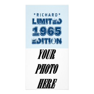 1965 50th Birthday Limited Edition Custom J50Z Photo Card