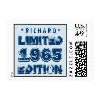 1965 50th Birthday Limited Edition Custom J50Z Stamps