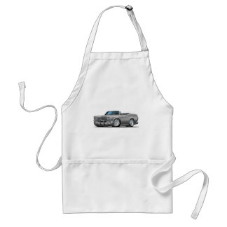 1965-66 Impala Silver Convertible Adult Apron