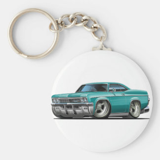 1965-66 Impala Teal Car Keychain
