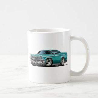 1965-66 Impala Teal Car Classic White Coffee Mug