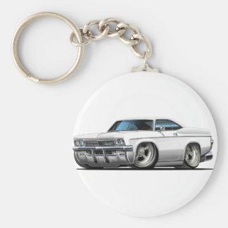1965-66 Impala White Car Key Chain