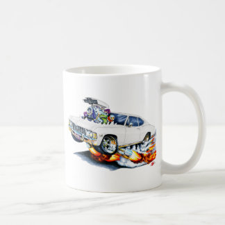 1965-66 Impala White Car Classic White Coffee Mug