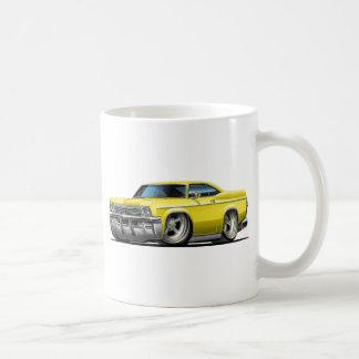 1965-66 Impala Yellow Car Classic White Coffee Mug