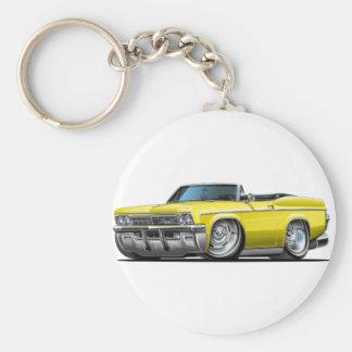 1965-66 Impala Yellow Convertible Keychain