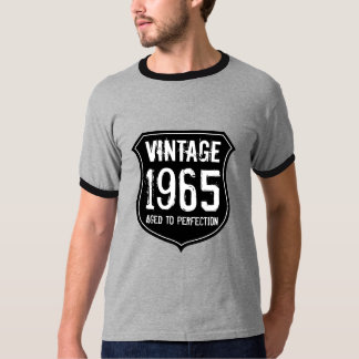1965 Aged to perfection t shirt | 50th Birthday