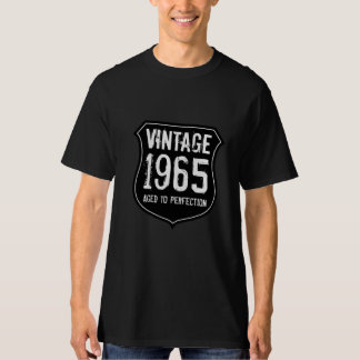 1965 aged to perfection | Vintage birth year shirt