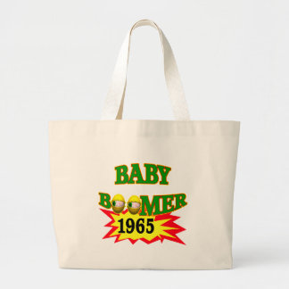 1965 Baby Boomers Birthday Gifts Large Tote Bag