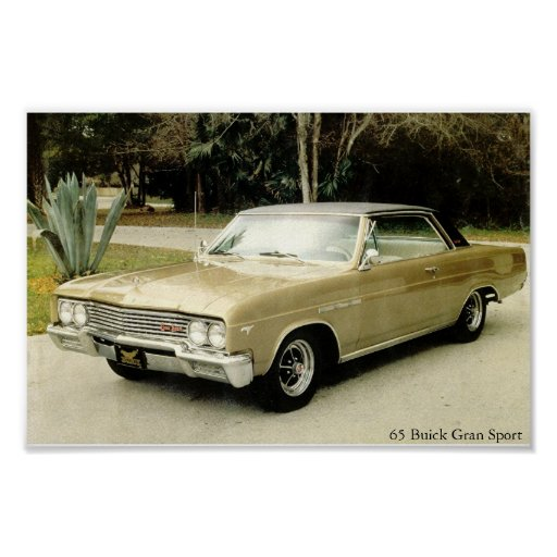 Buick Skylark Gs For Sale: 1965 Buick Skylark Gran Sport Poster