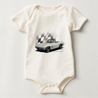 1965 Chevrolet Corvette Baby Bodysuit