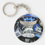 1965 Chevy Chevelle Blue Key Chains