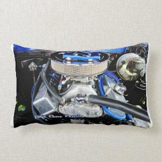 1965 Chevy Chevelle Blue Lumbar Pillow