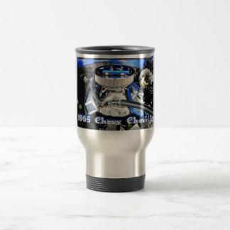 1965 Chevy Chevelle Blue 15 Oz Stainless Steel Travel Mug
