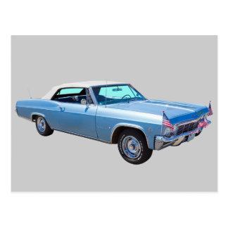 1965 Chevy Impala 327 Convertible Postcard