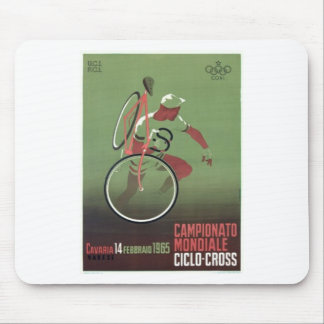 1965 Ciclo-cross Poster Mouse Pad