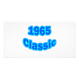 1965 Classic Blue Photo Cards
