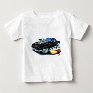 1965 Corvette Black Car Baby T-Shirt