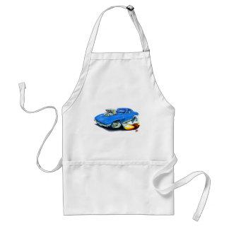 1965 Corvette Blue Car Adult Apron
