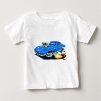 1965 Corvette Blue Car Baby T-Shirt